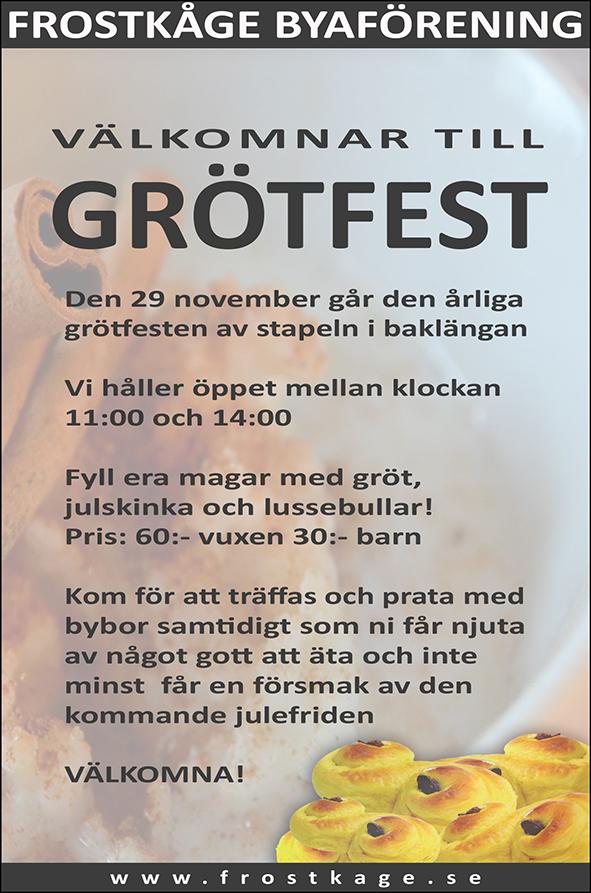 Grötfest 2015